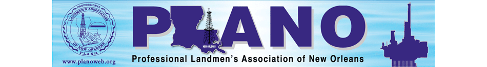 Professional Landmen's Association of New Orleans - PLANO