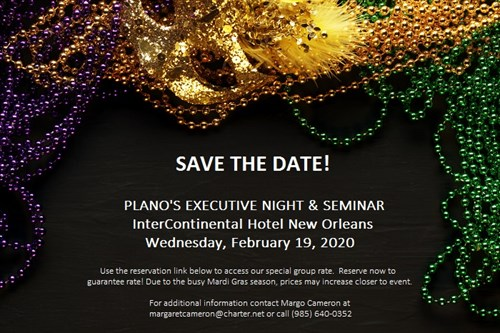 PLANO Save The Date Exec Night 2020 NEW